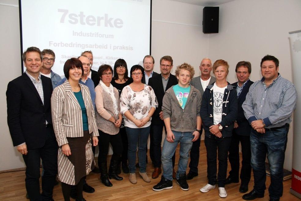 Industrien i Sør-Hedmark samlet seg til Industriforum 19. oktober for å dele sine erfaringer med Lean og vekst.