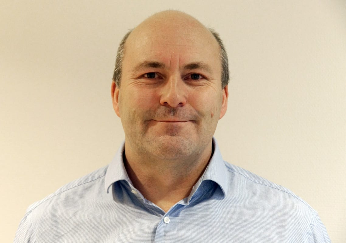 Adm direktør Roger Kyseth i SINTEF Raufoss Manufacturing